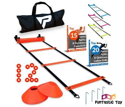 Product image of Pro Agility Ladder and Cones