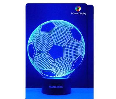 Product image of WANTASTE 3D Soccer Ball Lamp