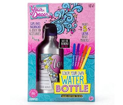 Product image of Your Decor Color Your Own Water Bottle