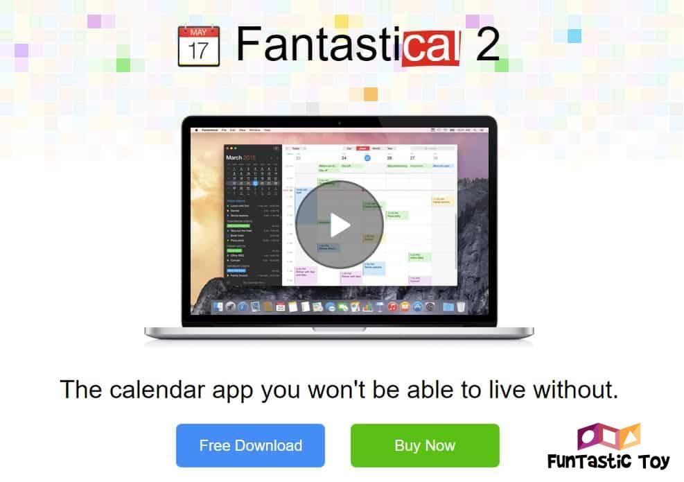Fantastical 2 family calendar app
