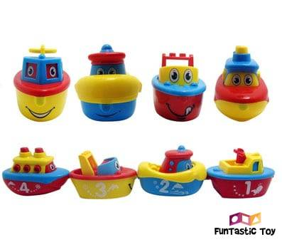 Product image of 3 Bees & Me Magnet Boat Set for Toddlers & Kids