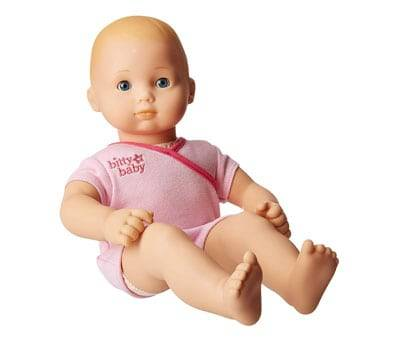 Product image of Bitty Baby Doll with Pink Bodysuit