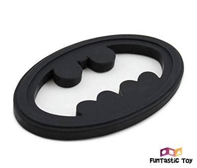 Product image of Bumkins DC Comics Batman Silicone Teether
