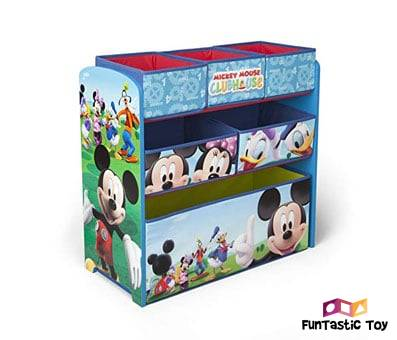 Product image of Delta Children Mickey Mouse Clubhouse Multi Bin