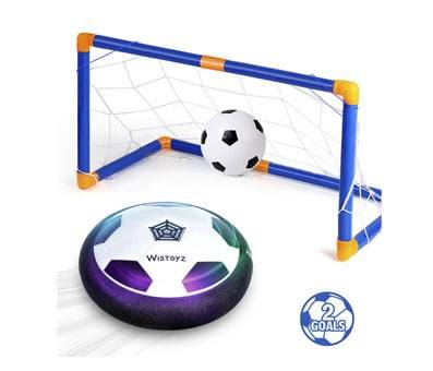 Product image of Kids Toys Hover Soccer Ball Set with 2 Goals, Air Soccer with Led Light