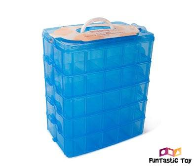 Product image of LifeSmart Stackable Storage Container Perfect for Legos