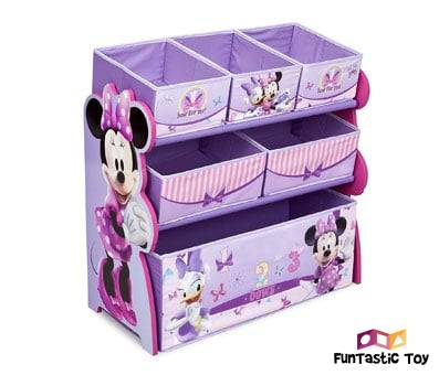 Product image of Multi-Bin Toy Organizer for Girls