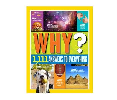 Product image of National Geographic Kids Why Over 1,111 Answers to Everything Book