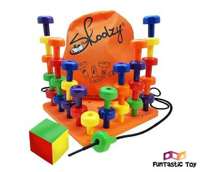 Product image of Skoolzy Peg Board Set