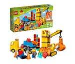 Small product image of LEGO Duplo Big Construction Site 10813