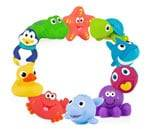 Small product image of Nuby 10-Pack Little Squirts Fun Bath Toys