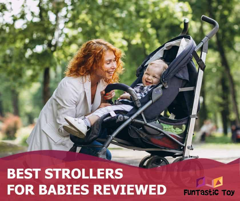 Featured image of mother and baby in stroller in park