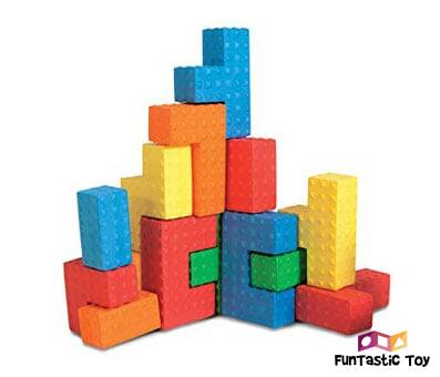 Product image of Edushape Easy Grip Soft Foam Sensory Puzzle Blocks