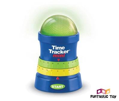 Product image of Learning Resources Time Tracker Mini Visual Timer