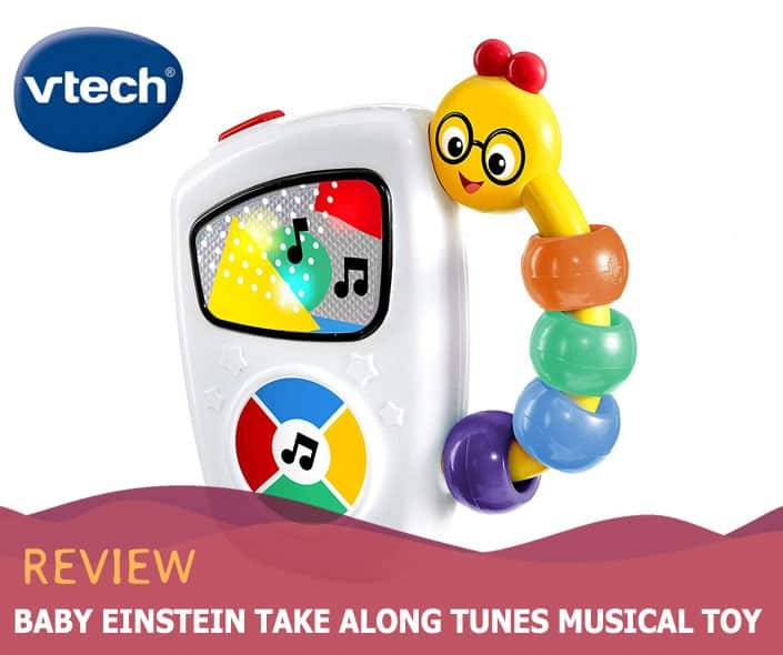 Featured image of Baby Einstein Take Along Tunes Musical Toy Review
