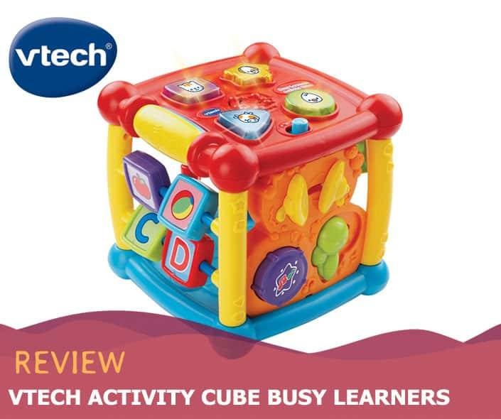Featured image of VTech Activity Cube Busy Learners review