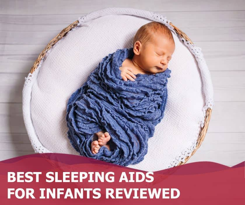Featured image of baby sleeping in blue blanket