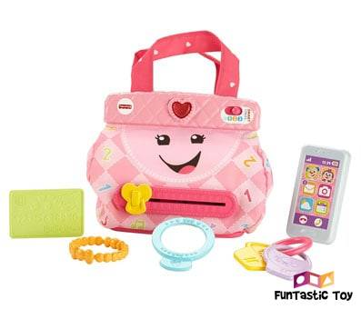 Image of Fisher-Price Laugh & Learn My Smart Purse multicolor