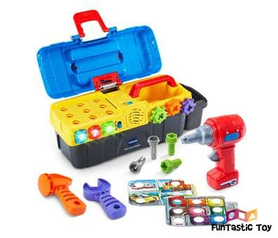 Image of VTech Drill & Learn Toolbox multicolor