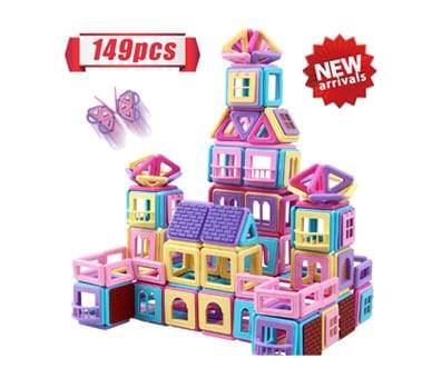 Product image of Castle Magnetic Blocks