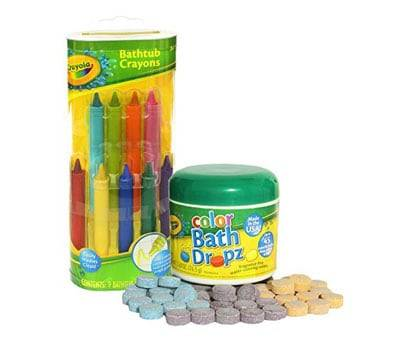Product image of Crayola Bathtub Crayons with Crayola Color Bath Drops