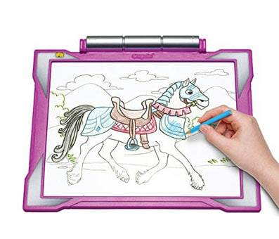 Product image of Crayola Light-Up Tracing Pad pink