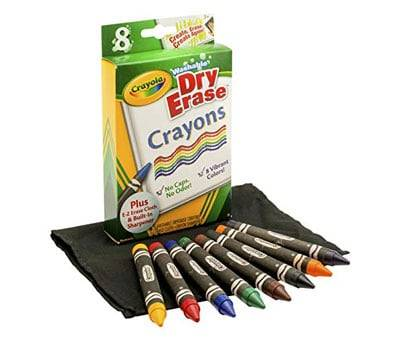 Product image of Crayola Washable Dry-Erase Crayons
