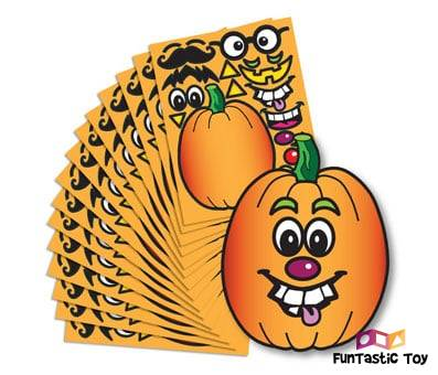 Product image of Create A Pumpkin Stickers