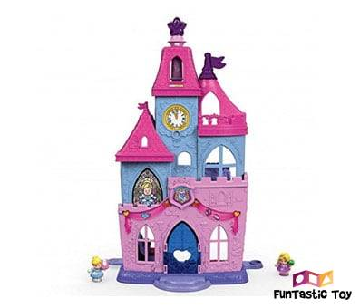 Product image of Fisher-Price Little People Disney Princess Magical Palace