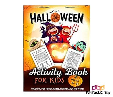 Product image of Halloween Activity Book for Kids Ages 4-8