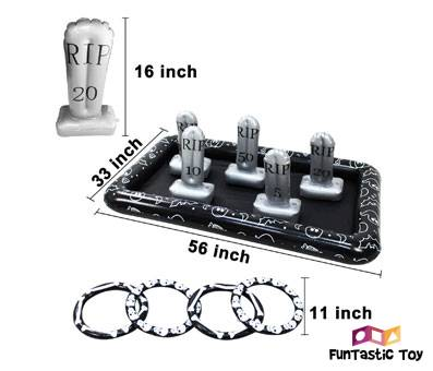 Product image of Halloween Inflatable Ring Toss Game