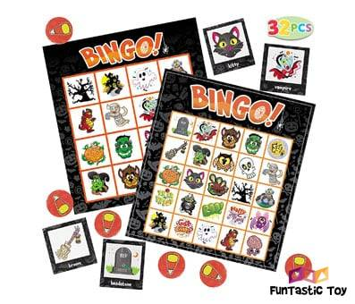 Product image of JOYIN 32 Halloween Bingo Game Cards