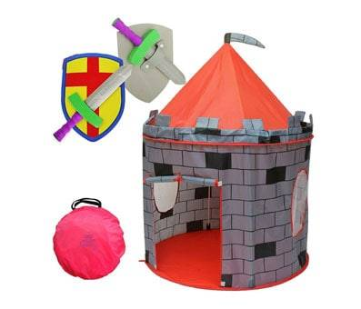 Product image of Kiddey Knights Castle Kids Play Tent for Boys