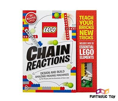 Product image of Klutz Lego Chain Reactions Science & Building Kit