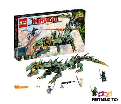 Product image of LEGO Ninjago Movie Green Ninja Mech Dragon