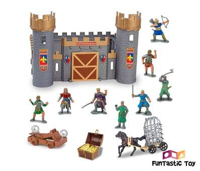 Product image of Liberty Imports Medieval Castle & Knights