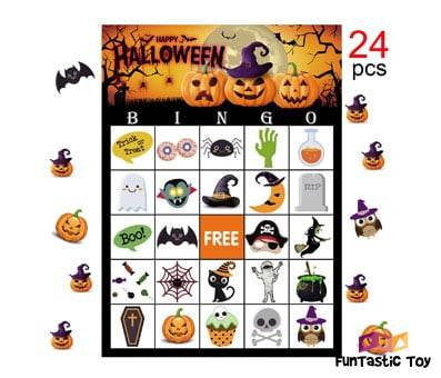 Product image of MISS FANTASY Halloween Bingo Game