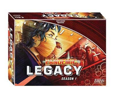 Product image of Pandemic Legacy Season 1 (Red Edition)