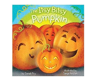 Product image of The Itsy Bitsy Pumpkin Board book