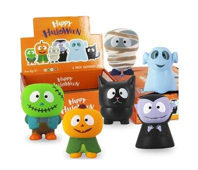 Product image of heytech 6 Packs Halloween Squishies Toys