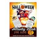 Small Product image of Halloween Activity Book for Kids Ages 4-8