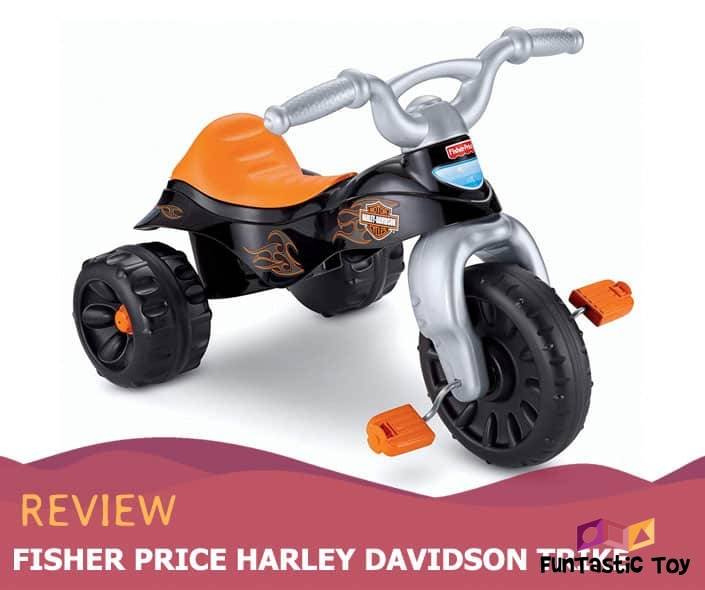 Featured image of Fisher Price Harley Davidson Trike review