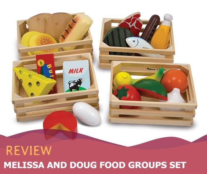 Featured image of Melissa and Doug Food Groups Set