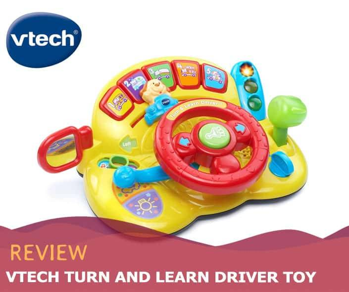 Featured image of VTech Turn and Learn Driver Toy