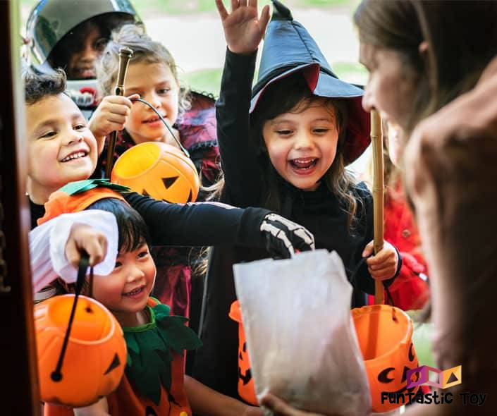 Featured image of children in halloween costumes trick-or-treating