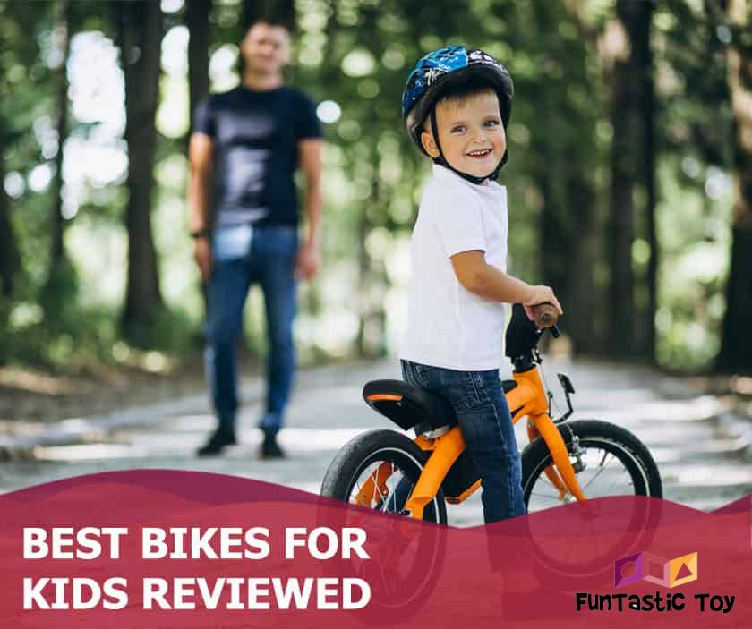 Featured image of smiling boy riding bicycle in park