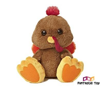 Product image of Aurora World Taddle Toes Stuffins Turkey Plush