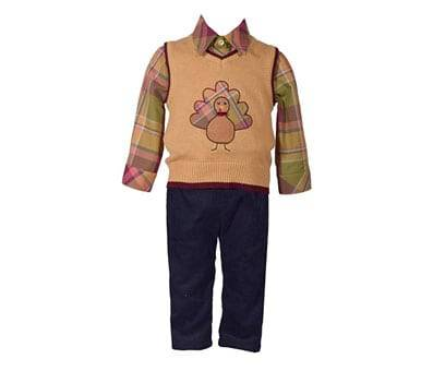 Product image of Bonnie Jean 3 Piece Sweater Vest for Toddler Boys