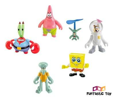 Product image of Fisher-Price Imaginext Spongebob Figure 6 Pack