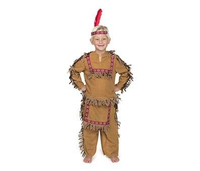 Product image of Indian Boy with feather headband
